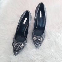 Used Iconic silver pumps in Dubai, UAE