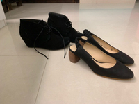 2 shoes from clarks lightly used size 38