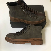 Used Fashion men's brown boots 🥾 size 43 in Dubai, UAE