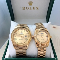 Used ROLEX COUPLES MENS WATCH GOLD in Dubai, UAE