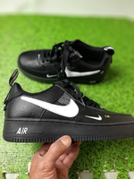 Used Nike Airforce 1 - Black size 40 Unisex in Dubai, UAE