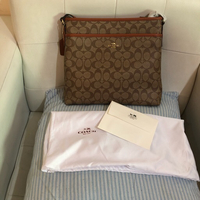 Used Authentic overruns Coach file bag  in Dubai, UAE