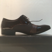 Brown style casual shoe for man