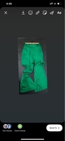 Used High waist long pant /silk  in Dubai, UAE