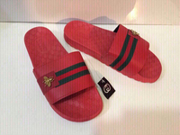 Used Gucci men's slippers size 42 in Dubai, UAE