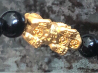 Used Certified black agate & solid gold 24k in Dubai, UAE
