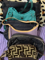Used Combo of 6 authentic leather bags in Dubai, UAE