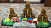 Used Rubik cubes and stacking cup in Dubai, UAE
