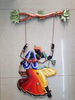 Used Beautiful handicraft Radha Krishna in Dubai, UAE