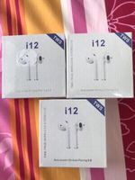 Used Bundle Offer 3 packets i12 TWS earphone  in Dubai, UAE