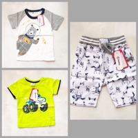 Used Patpat Boys Short and Shirts in Dubai, UAE