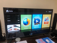 Used 42 inches Smart TV UHD, lightly used in Dubai, UAE