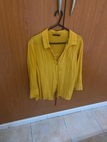 Used Stradivarious yellow shirt in Dubai, UAE