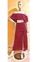 Used Red polkadot dress-Medium size in Dubai, UAE