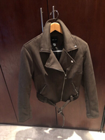 Used Suede padded jacket 12 UK in Dubai, UAE