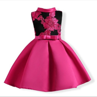 Red party dress age 4-5