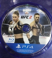 Used UFC2 boxing game for women and men ps4  in Dubai, UAE