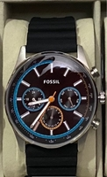 Used Fossil tachymeter watch / brand new in Dubai, UAE