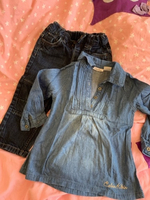 Used Jeans and blouse 2y in Dubai, UAE