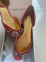 Used NEW Nine West open toe/D'orsay size10  in Dubai, UAE