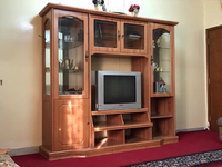 Used Majlis tv holder decor set  in Dubai, UAE