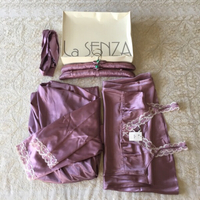 Used Luxurious nightgown & robe set (size 12) in Dubai, UAE