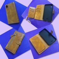 Used Leather/ Wallet IPhone X Cover in Dubai, UAE