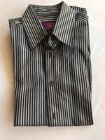 "Used Next"" brand size M brown stripes  in Dubai, UAE"