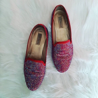 Used Steve Madden Jeweled Shoes  in Dubai, UAE