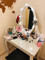 Used Dressing table with mirror and lights ! in Dubai, UAE