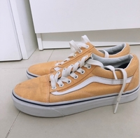 Used Authentic Yellow Old Skool VANS in Dubai, UAE