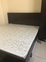 Used Double bed with mattress  in Dubai, UAE