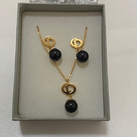 Used Dior Necklace and earrings set 18k in Dubai, UAE