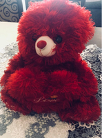 Toy red bear 🐻 ❤️