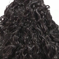 Used Lace front wig deep curly 15inch (new) in Dubai, UAE