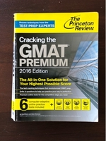 Used Cracking The GMAT PREMIUM in Dubai, UAE