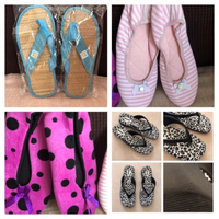Used Victoria secret house shoes & flip flops in Dubai, UAE