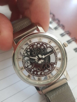 Skelton watch metal magnet new