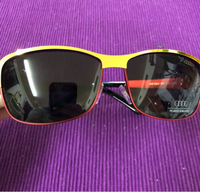 Sunglasses Gold/ Red Frame