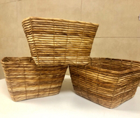 Used Willow baskets —— 3 in Dubai, UAE