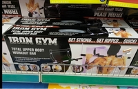 Used IRON GYM Total Upper Body Workout Bar  in Dubai, UAE