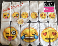 Used Emoji fun socks pair gift Christmas   in Dubai, UAE