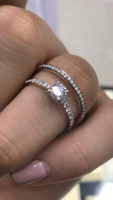 Used Solitaire Ring & Wedding Band  in Dubai, UAE