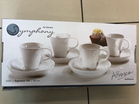 Used Symphony 8 pcs espresso set in Dubai, UAE
