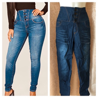 Used Jeans High waist size L in Dubai, UAE