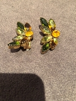 Used Clip on Earings with crystals  in Dubai, UAE
