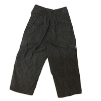Used Black checks Bermuda pants in Dubai, UAE