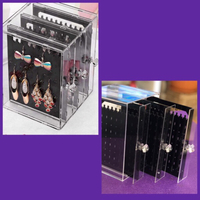 Used Transparent Jewelry Organizer  in Dubai, UAE