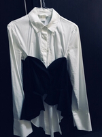 Used HM new shirt with removable corsage in Dubai, UAE