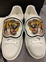 Used Gucci Ace sneakers with tiger patches  in Dubai, UAE